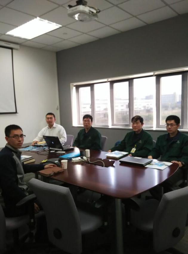 我司领导访约翰迪尔天津公司